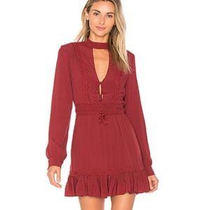 x Revolve Marjorie Mulberry Dress